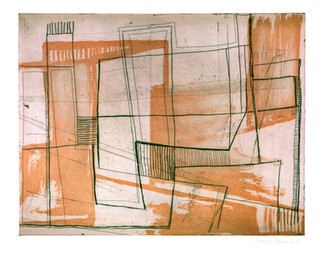Plano de la Ciudad de México II, from the Urban Patterns series, 2014.