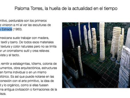 Paloma Torres, La huella de la actualidad en el tiempo