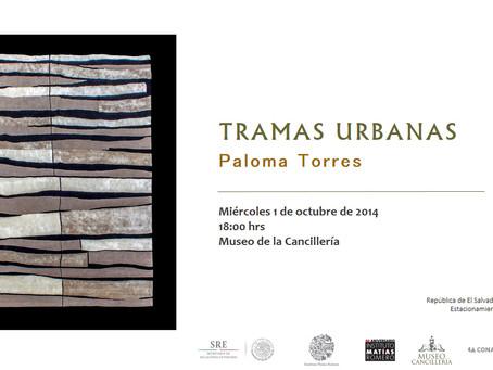 Exposición Tramas Urbanas en el Museo de la Cancillería