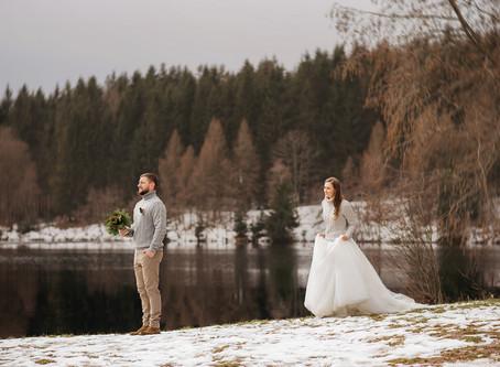 Winter Hochzeit! Bayern !