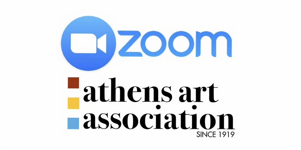 Athens Art Association Monthly Zoom Meeting