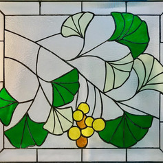 Ginkgo Stained Glass