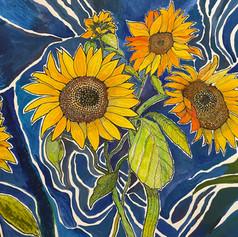 Monday Sunflowers
