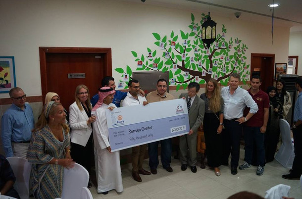 Iftar with Rotary Club of Jumeirah