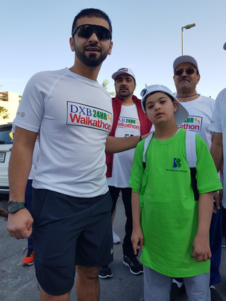 الشيخ منصور مع فهد