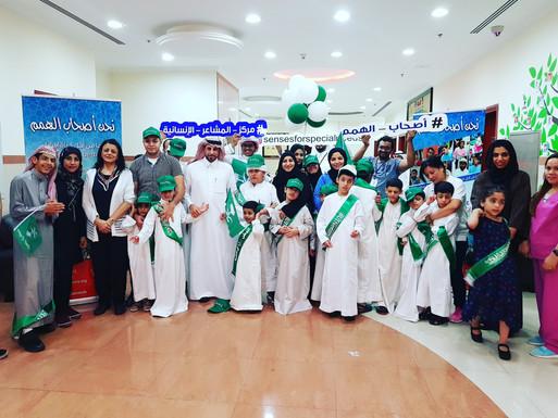 صورة مع الاستاذ مساعد الجراح المحلق الثقافي السعودي بدبي