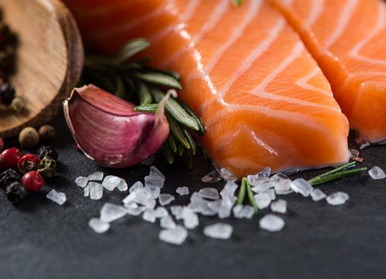 Fresh Salmon D trim