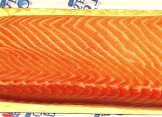 Fresh salmon D trim sides