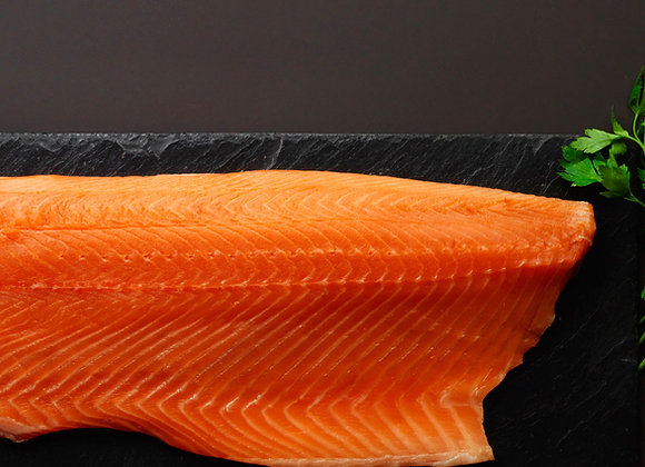 Smoked Sliced Salmon 1.1-1.4kg - Whole side