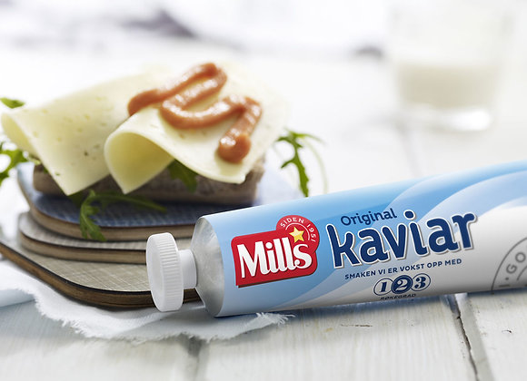 Mills Caviar 185g tubes (each carton 32)