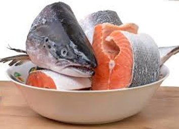 Salmon Heads (For soup)- Rich in Collagen