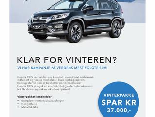 Vinterkampanje CR-V