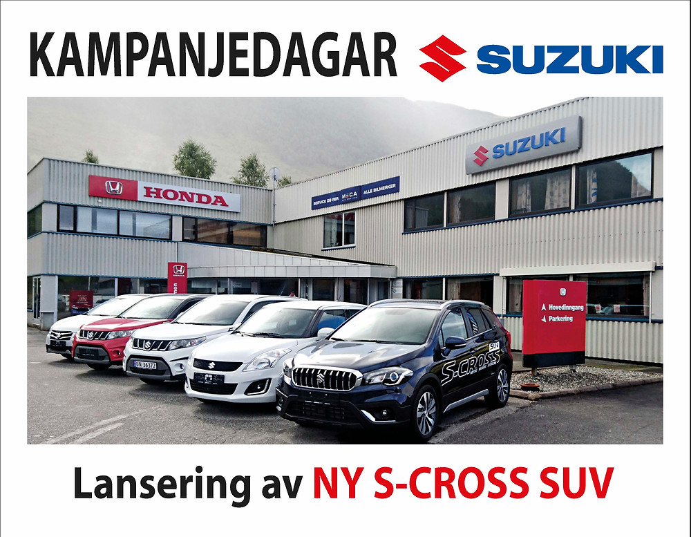 S-CROSS / VITARA / SWIFT