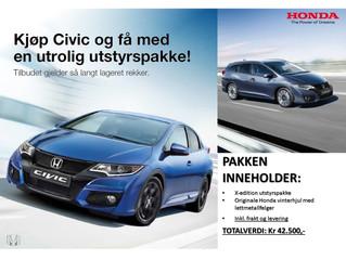 Kampanje på Honda Civic