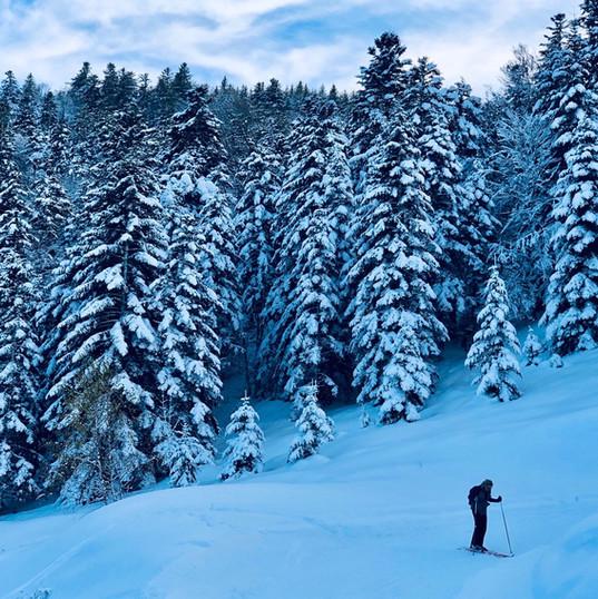 Ski de fond Val d'Azun
