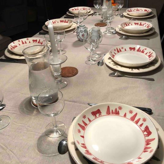 table-pyrenees-chalet-gite