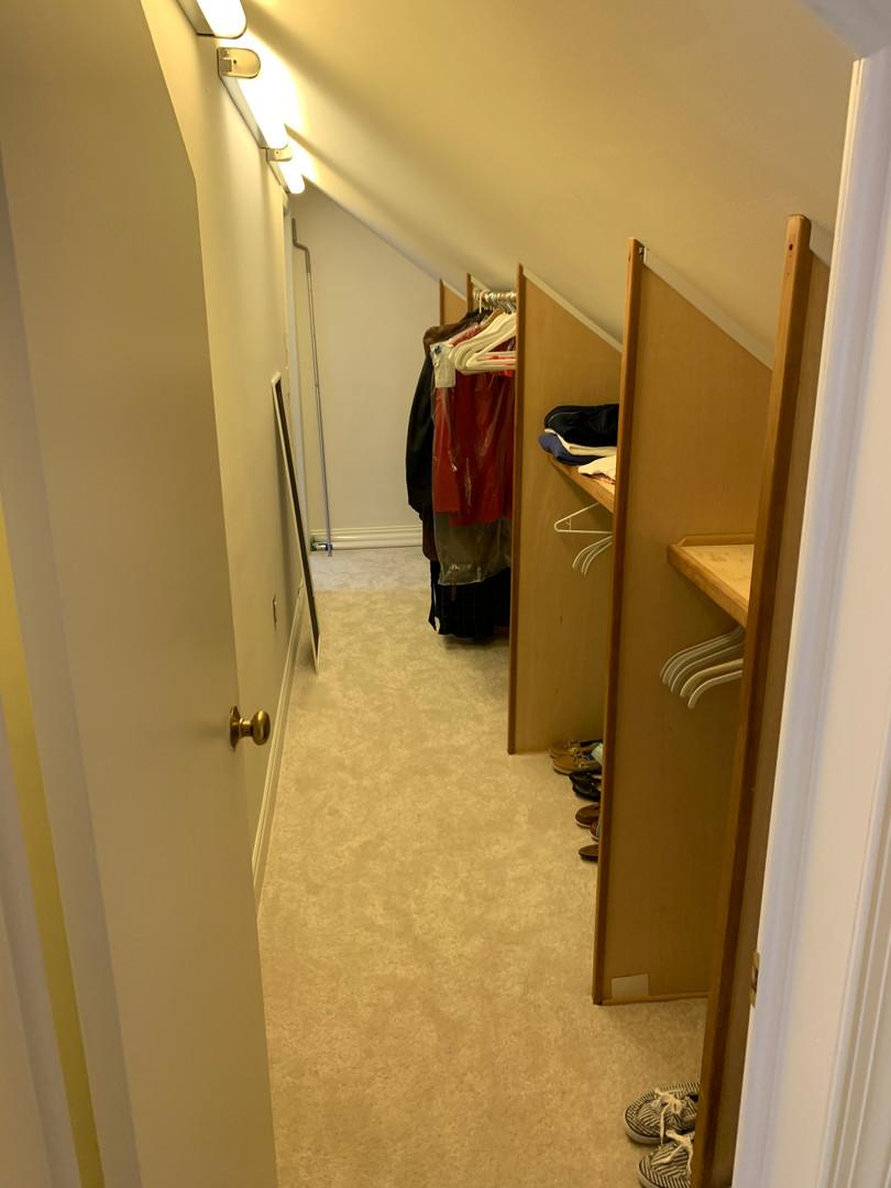 Secret Closet Passageway