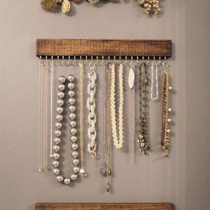 PINTEREST PROJECT: Jewelry Rack
