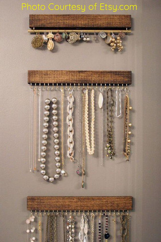 PINTEREST PROJECT: Jewelry Rack