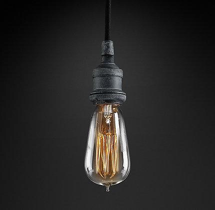 RH Bare Bulb Filament Pendant