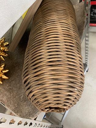 Oval Decorative Grey Basket