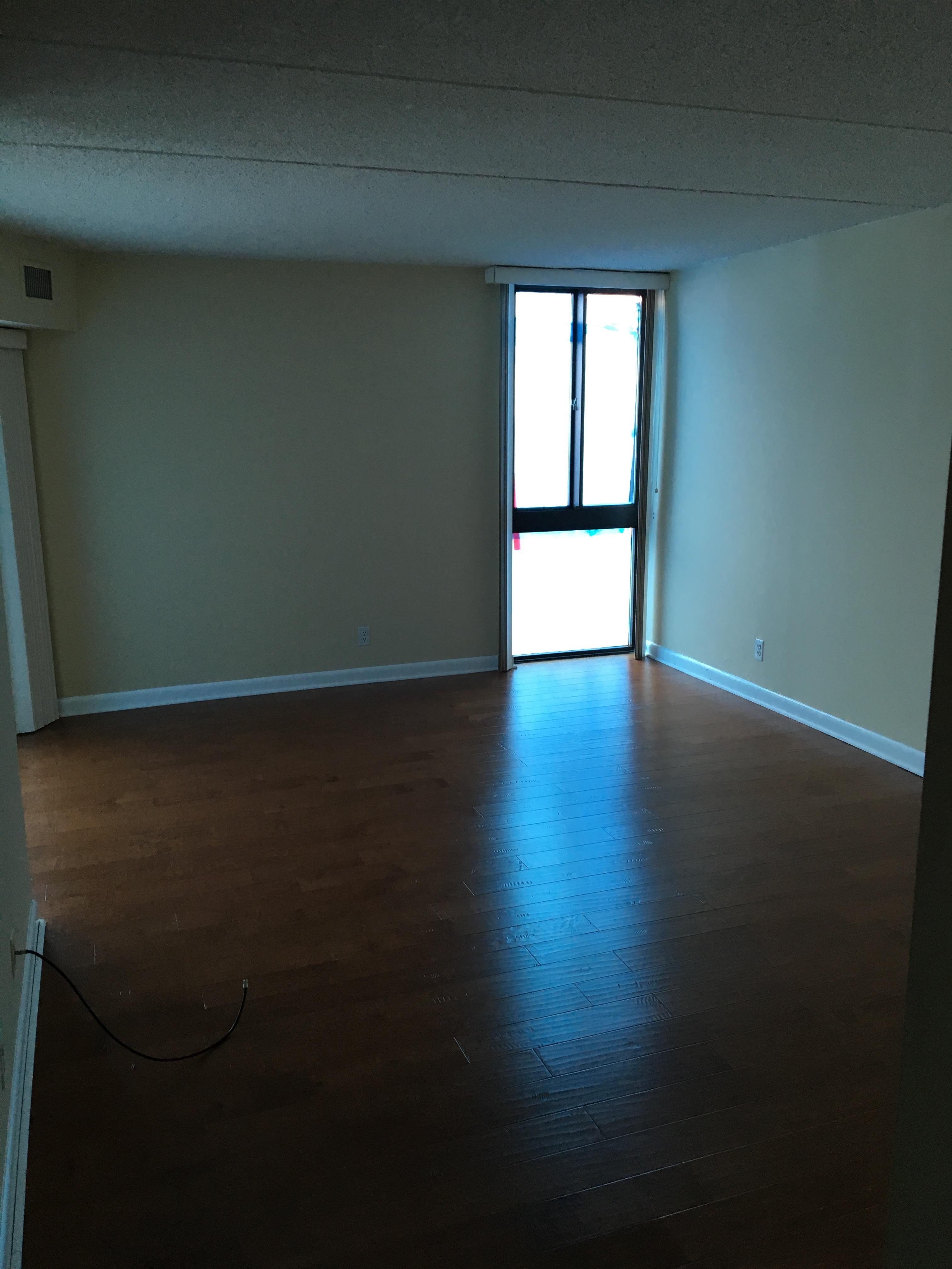 Empty Master Bedroom