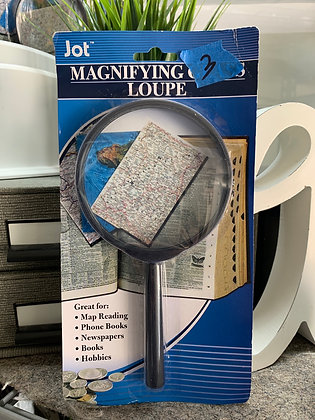 Magnifying Glass Black Handle