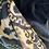 """Thumbnail: 20"""" Dark Navy & Silver Ikat Cover"""