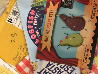 Lucky you! Three books to review!