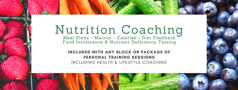 Nutrition Coaching Manchester