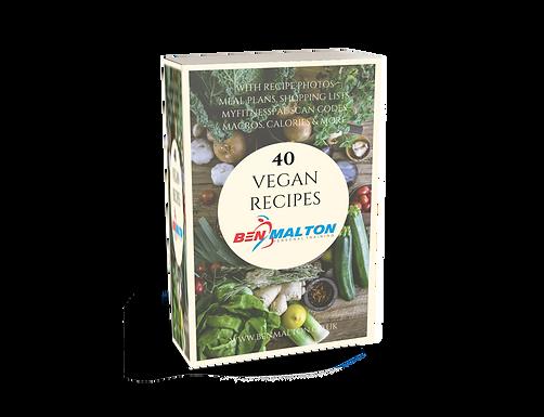 40 Vegan Recipes