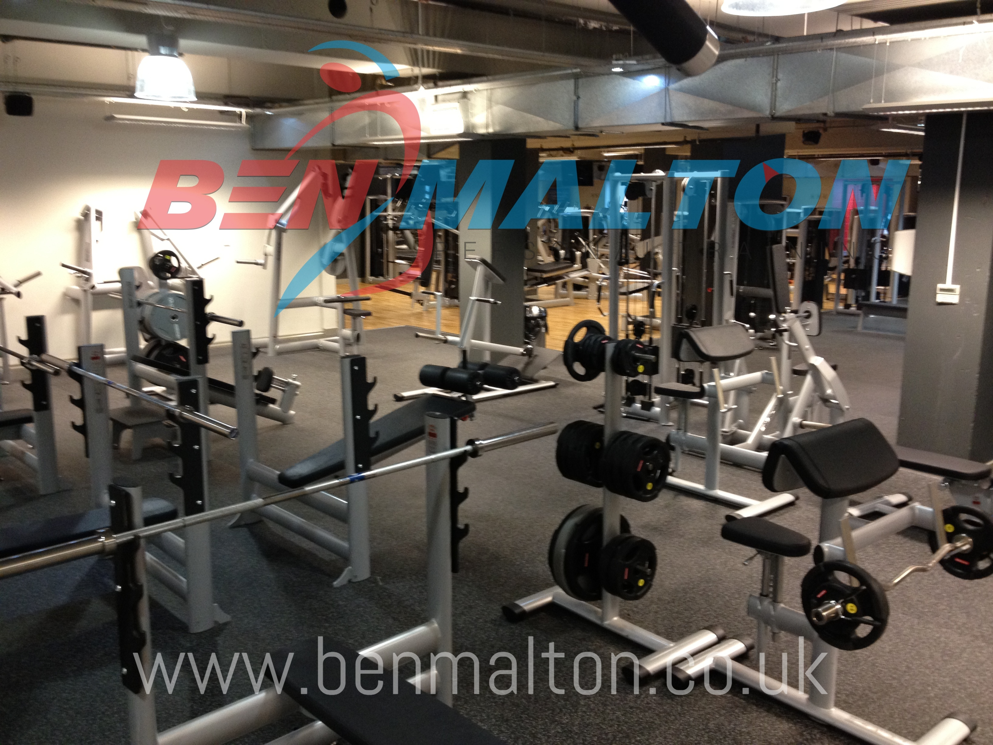 The Gym Group - Bench Press Area