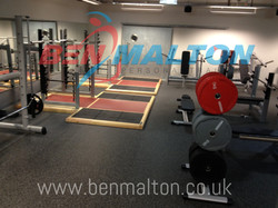 The Gym Group - Barbell Area