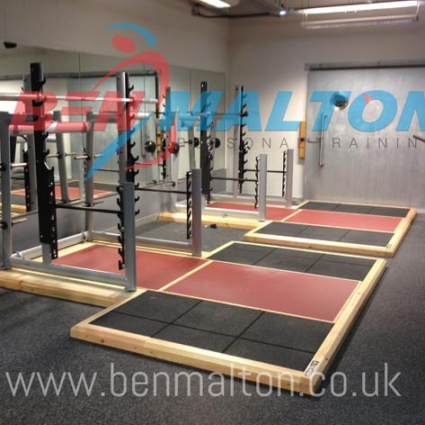 The Gym Group - Olympic Lifting Platform