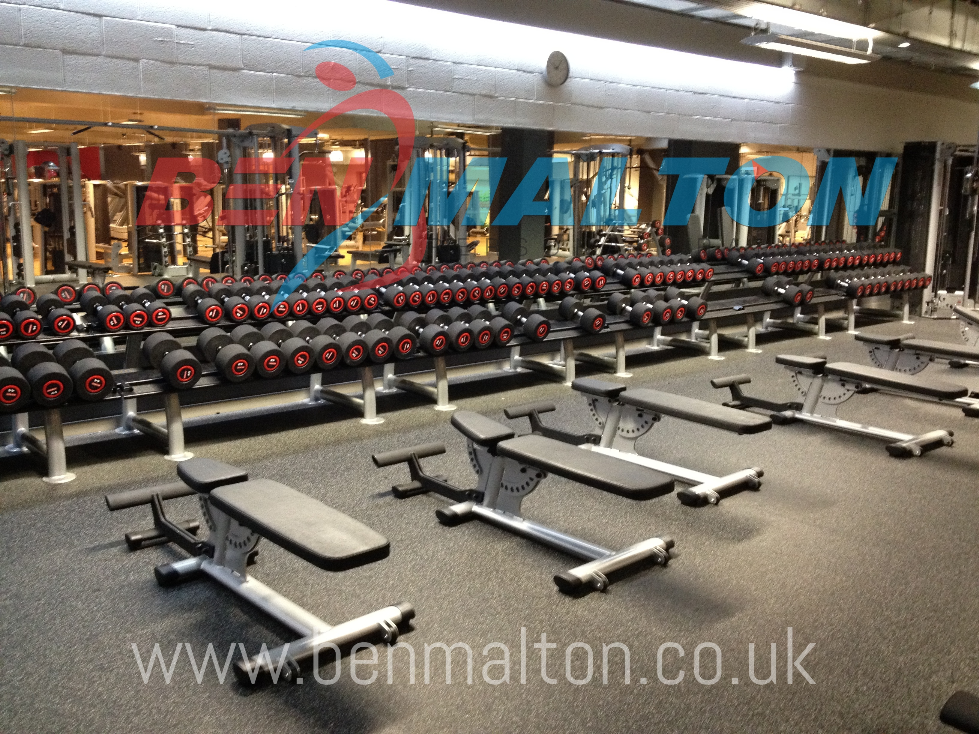 The Gym Group - Weights Area