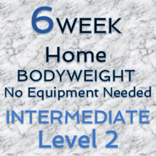 6 Week Bodyweight - Intermediate - Level