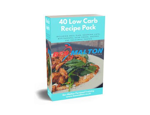40 Low Carb Recipes