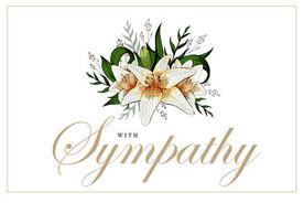 Sincere Sympathy