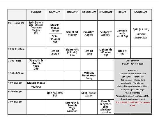 DecJan2020Half Page Schedule and descrip