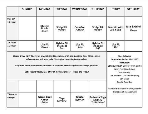SepOct2020Half Page Schedule and descrip