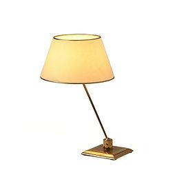 Pierre Barbe UAM modernisme mallet-stevens chareau 1930 1940 villa cavrois lampe de table