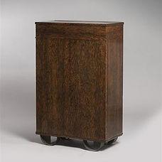 eugene printz meuble phonographe bois de palmier collection adelsky