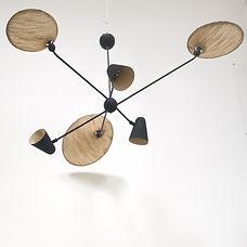 robert mathieu ceiling light serge mouille french design 1950 fifties