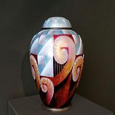 emmanuel eyraud camille fauré émaux cloisonné cloisonne enamel vase art déco limoges auction enchères