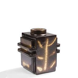 Robert lallemant vase architecture 1930 constructivisme chocolat or malevitch