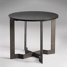 eugene printz guéridon laiton granit 1928 collection adelsky