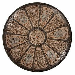 andré metthey ceramic iznik orient andré gide french important plat