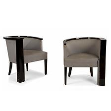 Renée KINSBOURG fauteuils axymétriques SAD 1929 salon des artistes décorateurs