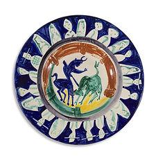 Pablo picasso madoura ramié vallauris bailly corrida 1950 legrand ceramique d'artiste edition limitée maitre picasso cubisme toraro