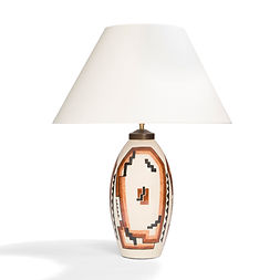 robert lallemant lampe ceramique modernisme 1930 constructivisme architecture